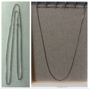 Jewelry - Sterling Silver Chain - 30""